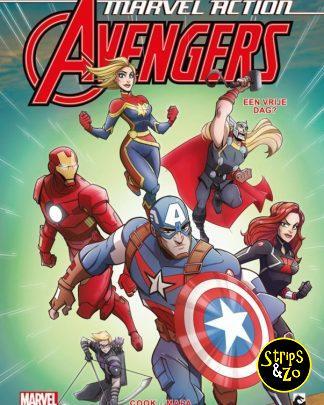 Marvel Action Avengers 5 Een dagje vrij
