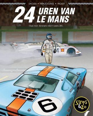 Plankgas 13 Uren van Le Mans 2 1968 1969 Rennen heeft geen zin...