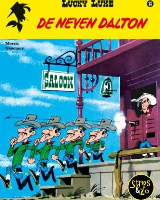 Lucky Luke 12 De neven Dalton