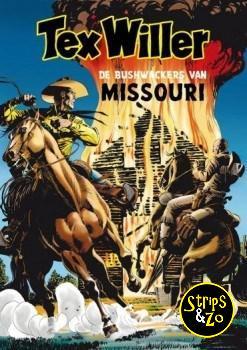 Tex Willer - Classics (Hum!) 5 - De Bushwackers van Missouri