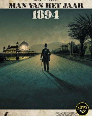 Man van het Jaar 7 1894 De man die schuld heeft aan de Dreyfus affaire