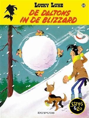 Lucky Luke - Relook 22 - De Daltons in de blizzard