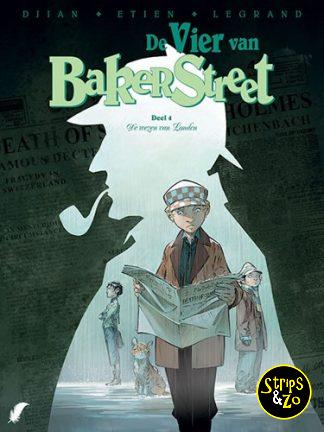De Vier van Baker Street SC 4 – De wezen van Londen