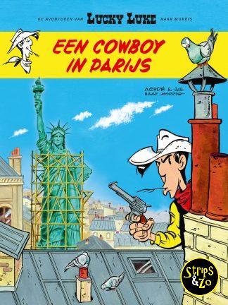 Lucky Luke – De avonturen van 8 – Een cowboy in Parijs