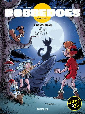 Robbedoes – special 3 – De wolfman