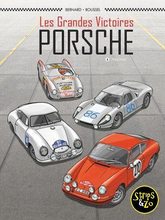 Plankgas 12 / De grote overwinningen – Porsche 1: 1952-1968