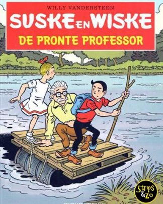 Suske en Wiske - in het kort 3 - De Pronte Professor