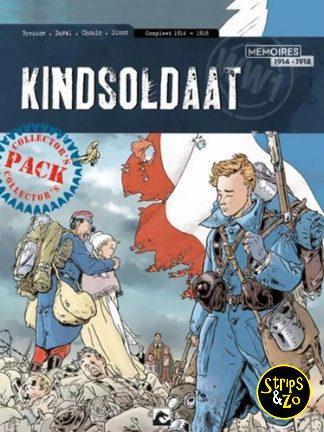 Kindsoldaat 1-3 – Collector's Pack