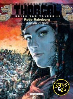 Thorgal, de werelden van - Kriss van Valnor 5 - Rode Raheborg