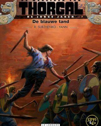 Thorgal, de werelden van - Jonge Jaren 7 - De blauwe tand