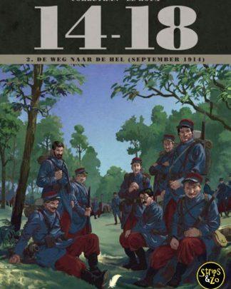 14-18 deel 2 - De wegen naar de hel (september 1914)