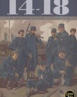 14-18 deel 3 - Op het veld van eer (januari 1915)