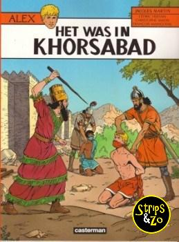 Alex 25 - Het was in Khorsabad