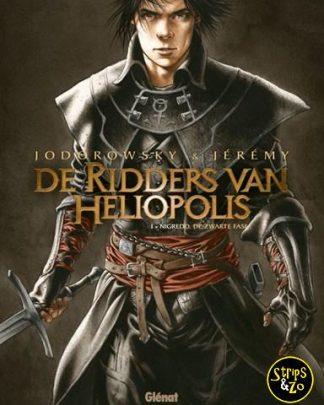 Ridders van Heliopolis, de 1 - Nigredo, de zwarte fase