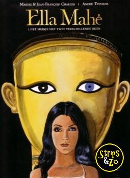 Ella Mahé 1 - Het Meisje met twee verschillende ogen