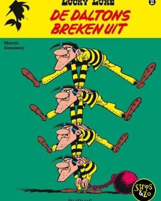 Lucky Luke - Relook 15 - De Daltons breken uit