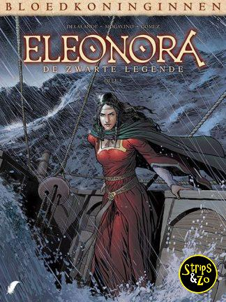 Bloedkoninginnen 9 – Eleonora 5 – De zwarte legende 5