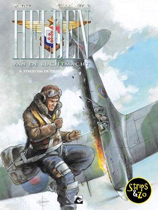 Helden van de luchtmacht 6 – Strijd om de telemark