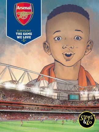 Voetbalcollectie – Arsenal HC1 – The game we love