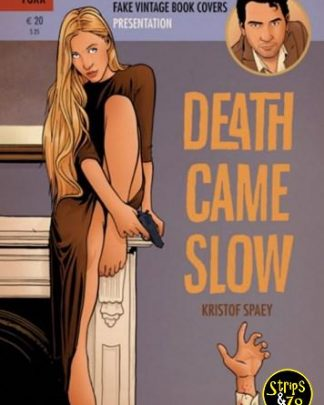 Fake Vintage Book Covers 2 - Death came slow