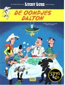 Lucky Luke - De avonturen van 6 - De oompjes Dalton