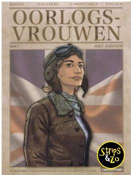Oorlogsvrouwen 1 - Amy Johnson