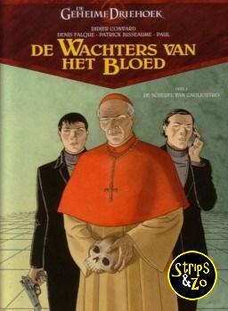 Geheime driehoek - Wachters van het bloed 1 - De schedel van Cagliostro