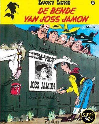 lucky luke 11 De bende van Joss Jamon