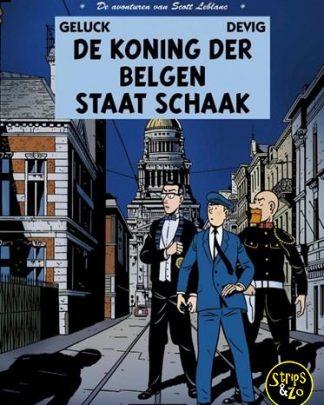 Scott Leblanc, de avonturen van 4 - De koning der Belgen staat schaak