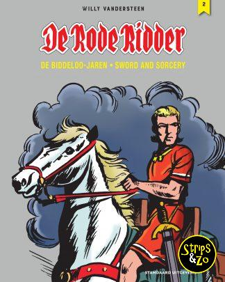 De Rode Ridder de biddeloo jaren 2 sword and sorcery scaled