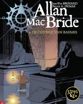 Allan Mac Bride 1 De Odyssee van Bahmes