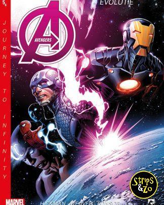 New Avengers Journey to Infinity 5 Evolutie 1
