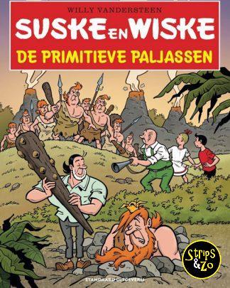 Suske en Wiske in het Kort 24 De Primitieve Paljassen
