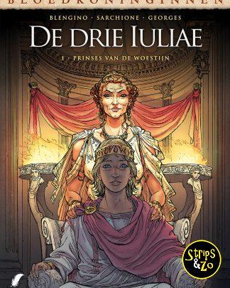 Bloedkoninginnen 17 De drie Iulia 1 Prinses van de woestijn