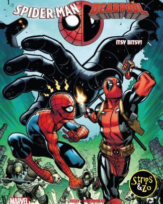 Spider Man vs Deadpool 1 Itsy Bitsy