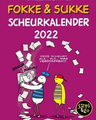 Fokke Sukke scheurkalender 2022