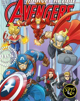 Marvel Action Avengers 1 3 Collector Pack